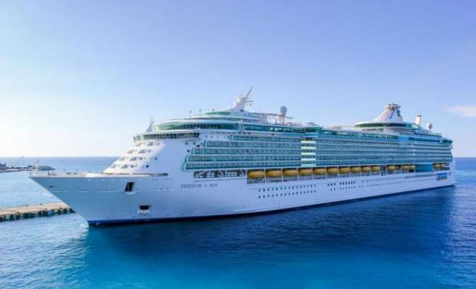 Cruiseschip Freedom of the Seas uit de Royal Caribbean Freedom-klasse