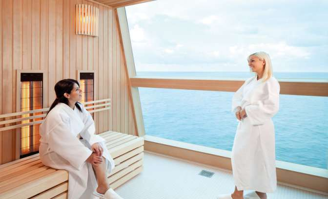 Wellness en Spa faciliteiten Celebrity Cruises