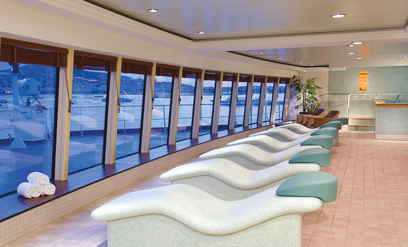 Health Spa van Norwegian Jewel