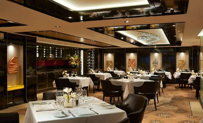 Restaurant The Haven van cruiseschip Norwegian Getaway