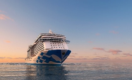 De Majestic Princess van Princess cruises
