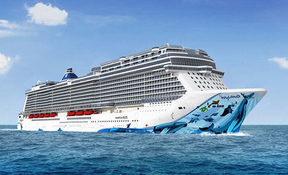 De Norwegian Bliss van Norwegian Cruise Line
