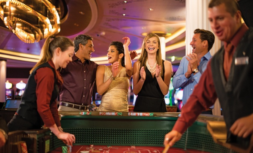 Het casino op de Celebrity Reflection