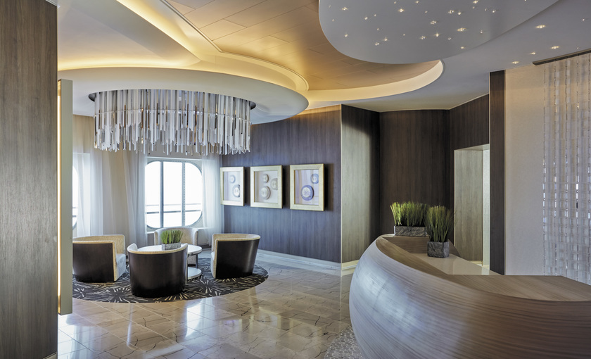 De spa op de Seven Seas Explorer